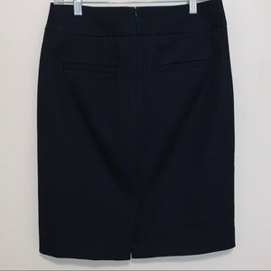 Banana Republic Black Pencil Skirt Size 6